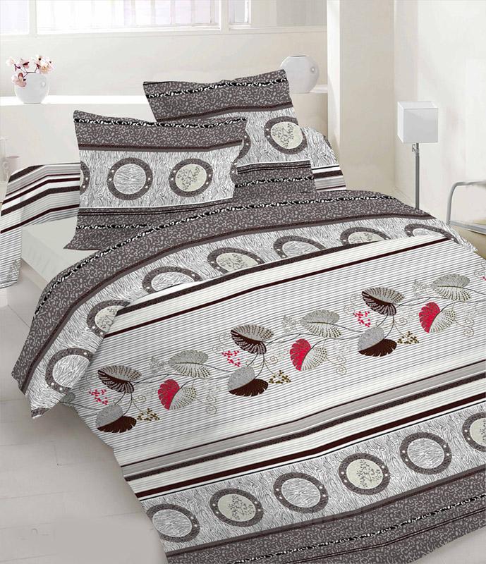 Комплект постельного белья TM Nostra Бязь Люкс серая композиция