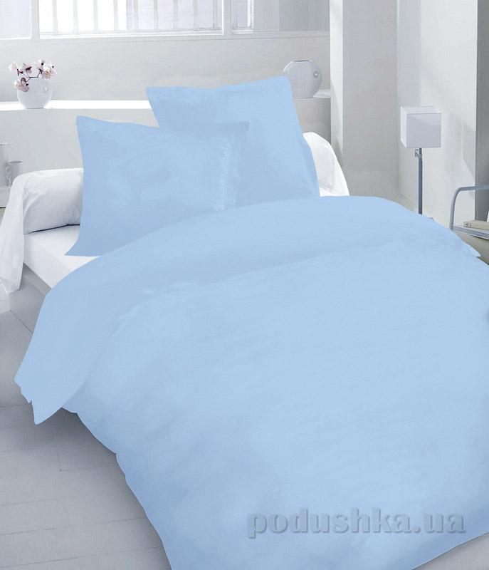 Комплект постельного белья TM Nostra Сатин Forever blue Active гладкокрашеный