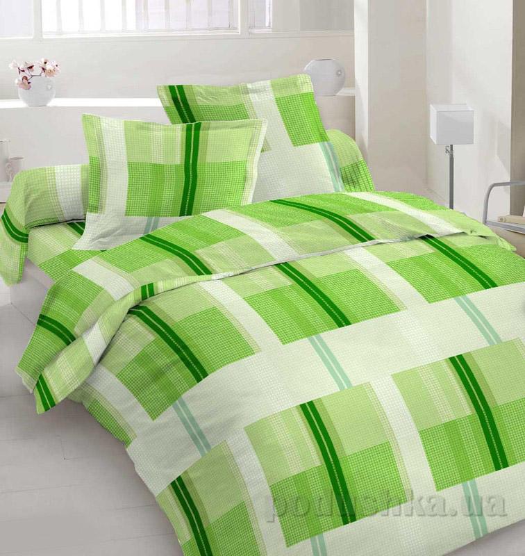 Комплект постельного белья TM Nostra Сатин зеленая клетка