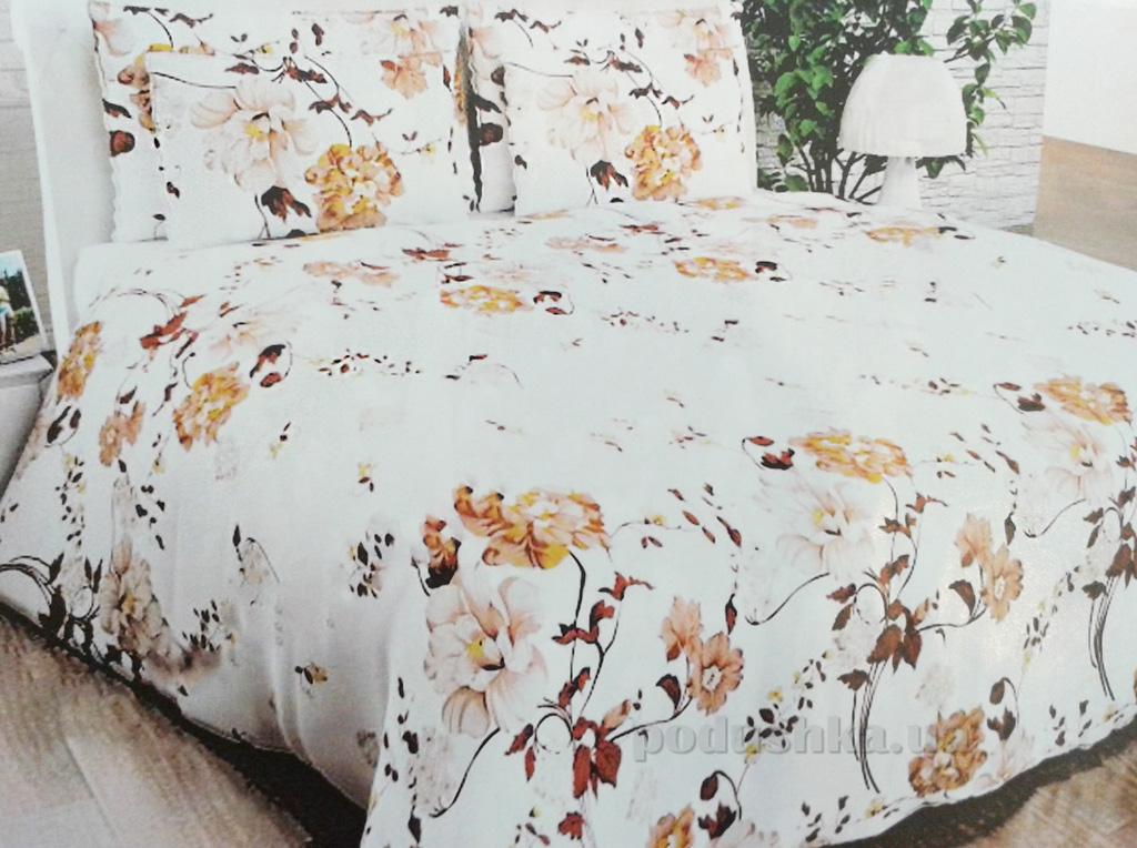 Комплект постельного белья ТМ Світ Шоколадная роза