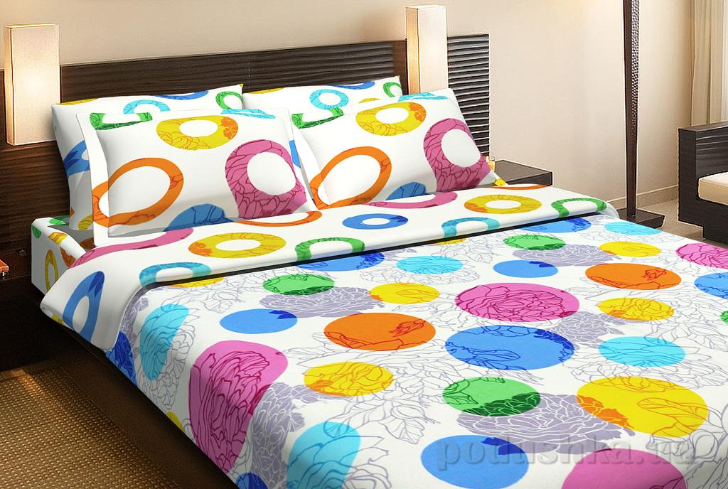 Комплект постельного белья TOP Dreams Цветочное конфетти
