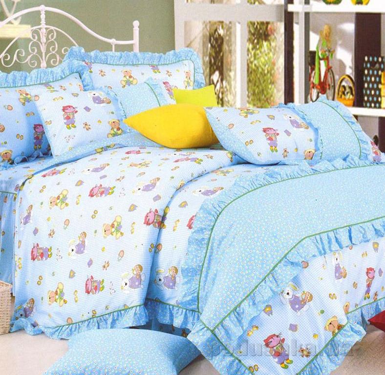 Постельное белье в детскую кроватку Love you CR-398