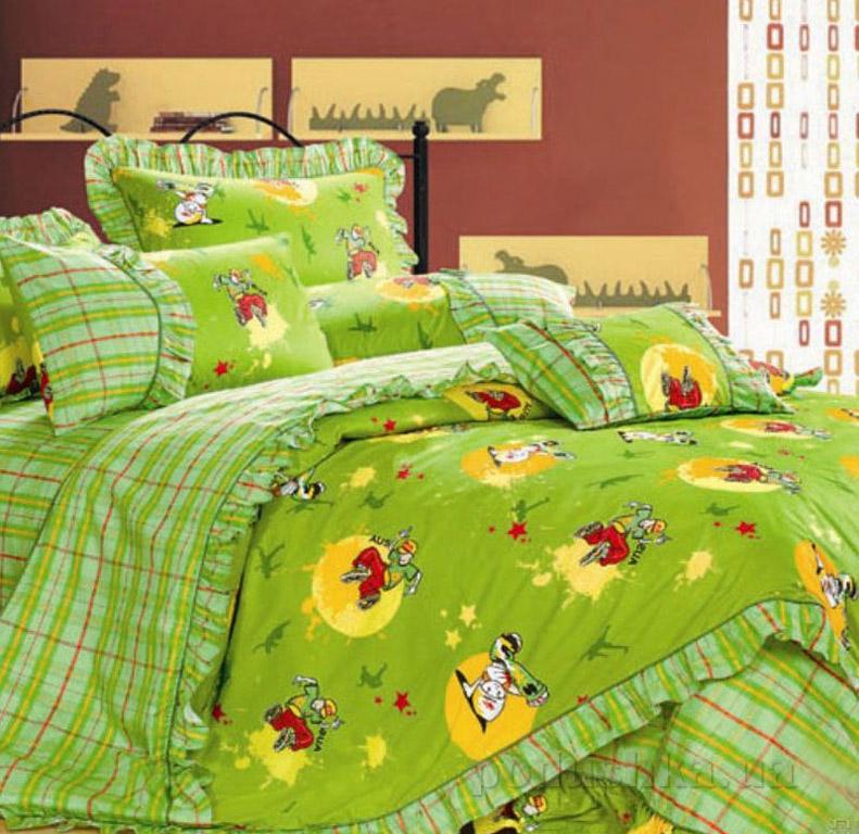 Постельное белье в детскую кроватку Love you CR-454