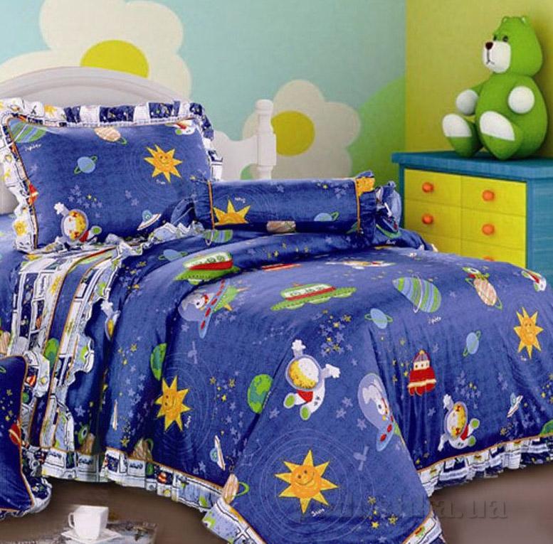 Постельное белье в детскую кроватку Love you CR-464