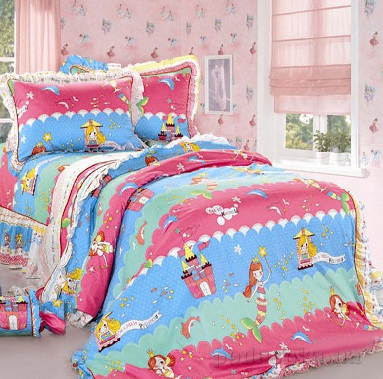 Постельное белье в детскую кроватку Love you CR-467