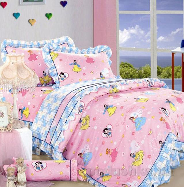 Постельное белье в детскую кроватку Love you CR-481