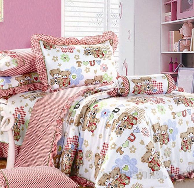 Постельное белье в детскую кроватку Love you CR-501