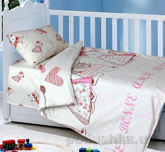Постельное белье в кроватку Блакит Bonne-amie