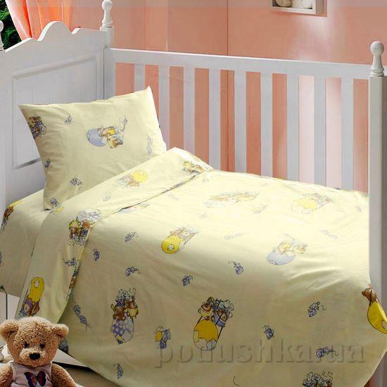 Постельное белье в кроватку Блакит Дирижабль