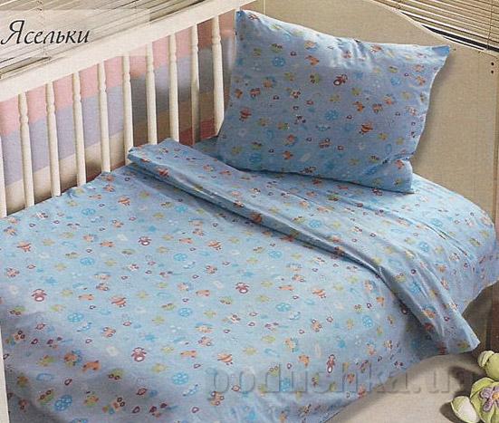 Постельное белье в кроватку Блакит Ясельки 4319
