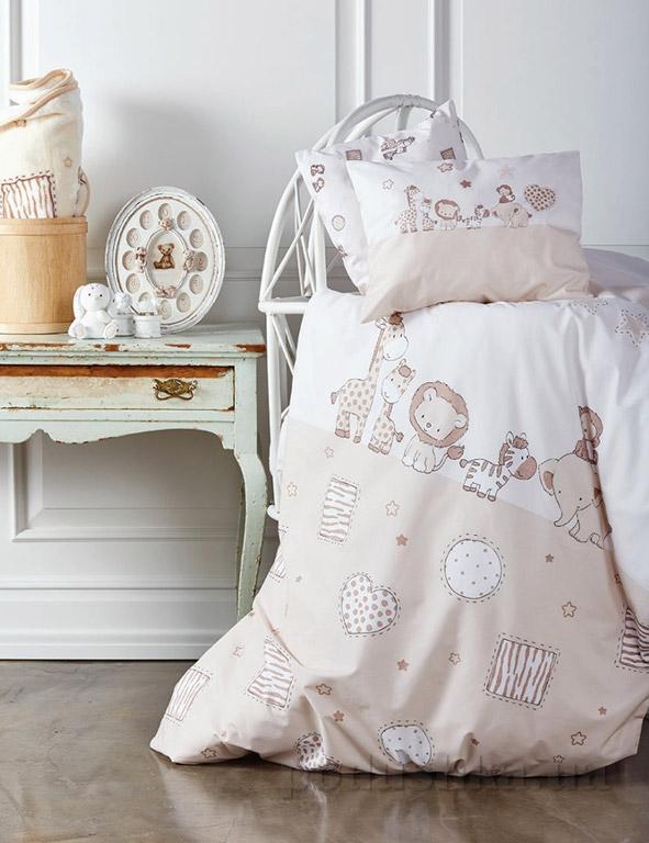 Постельное белье в кроватку Karaca Friends