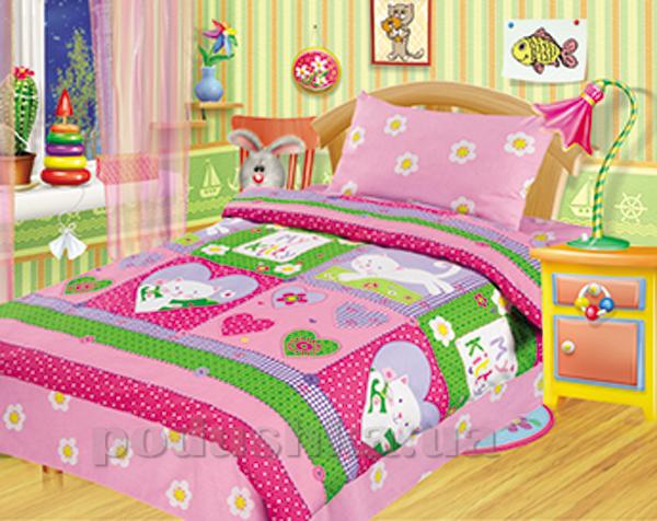 Постельное белье в кроватку My Kitty