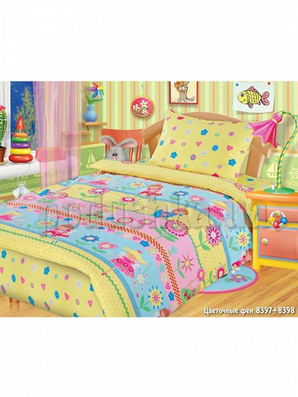 Постельное белье в кроватку Цветочные феи
