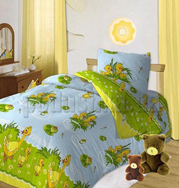 Постельное белье в кроватку Ути