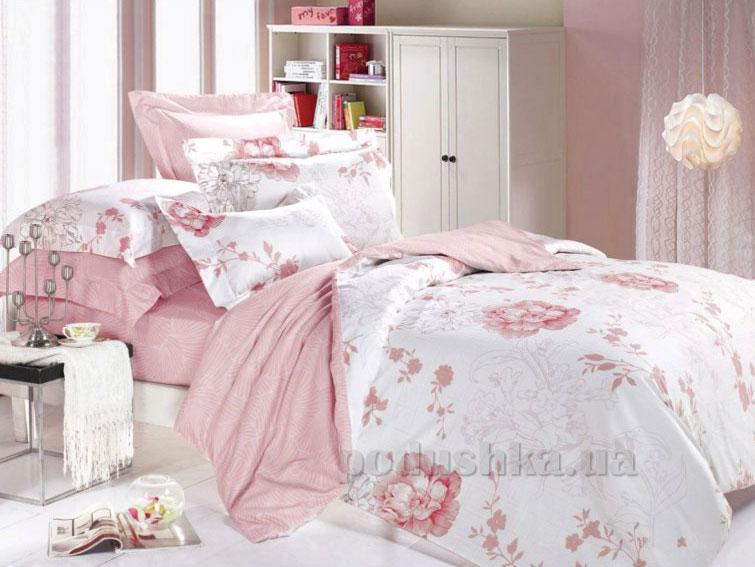 Постельное белье Вилюта 8626 розовый Полуторный комплект  Вилюта