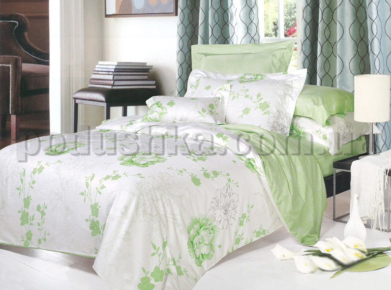 Постельное белье Вилюта 8626 зеленый