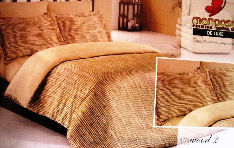 Постельное белье Wood-2 Mariposa шелк-бамбук жаккард