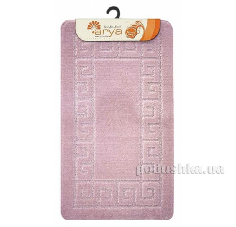 Комплект розовых ковриков для ванной комнаты Mono Arya 1380078