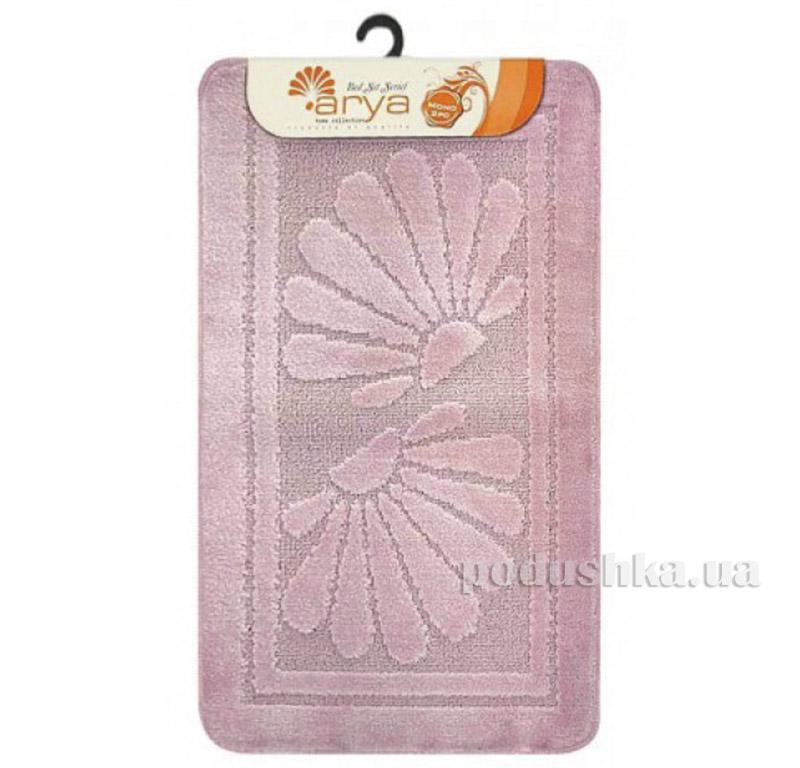Комплект розовых ковриков для ванной комнаты Mono Arya 1380080