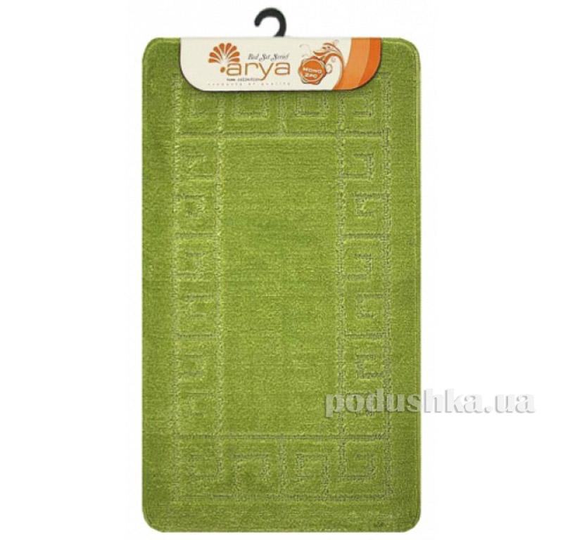 Комплект салатовых ковриков для ванной комнаты Mono Arya 1380078