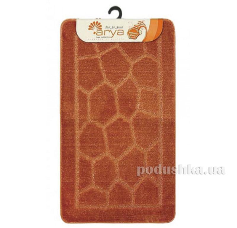 Комплект терракотовых ковриков для ванной комнаты Mono Arya 1380079