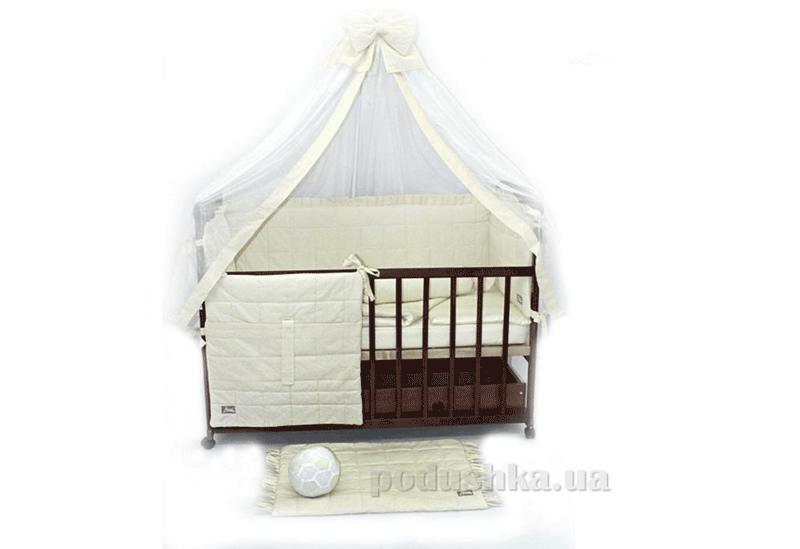 Комплект в детскую кроватку 10 предметов Homefort Радуга ранфорс