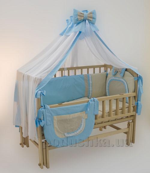 Комплект в детскую кроватку 8 предметов Homefort Ранфорс