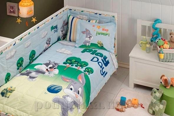 Комплект в кроватку TAC Sylvester and bugs bunny baby