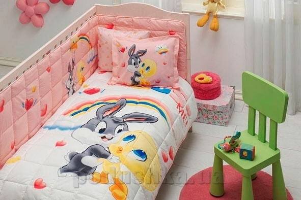 Комплект в кроватку TAC Tweety and bugs bunny baby