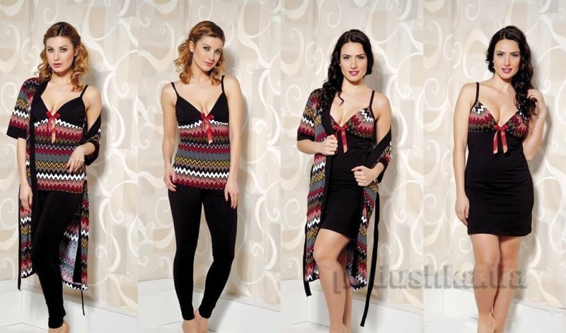 Комплект женский из 4 предметов Lady Textile 13500