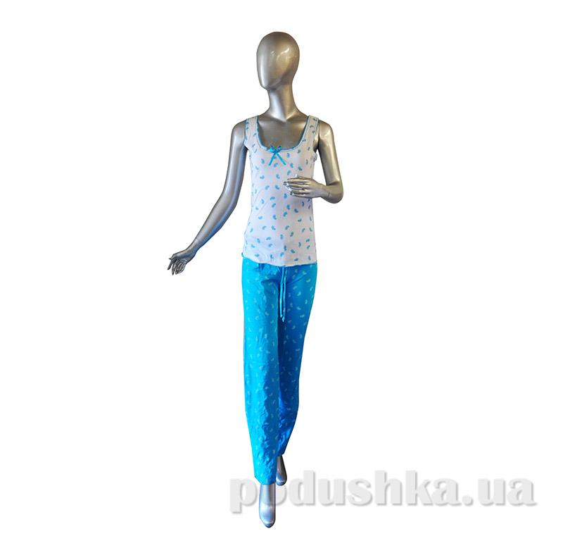 Комплект женский Senti 090909 голубой