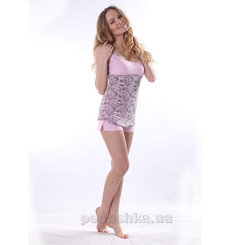 Комплект женский VVL-TEX Розы 169-1 розовый