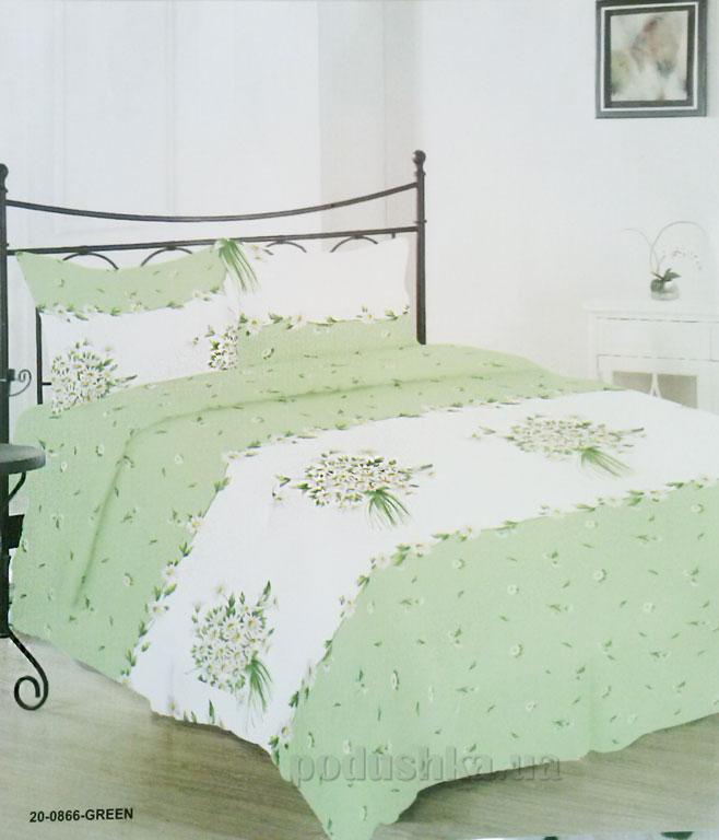 Комплект постельного белья Service 20-0866-green бязь
