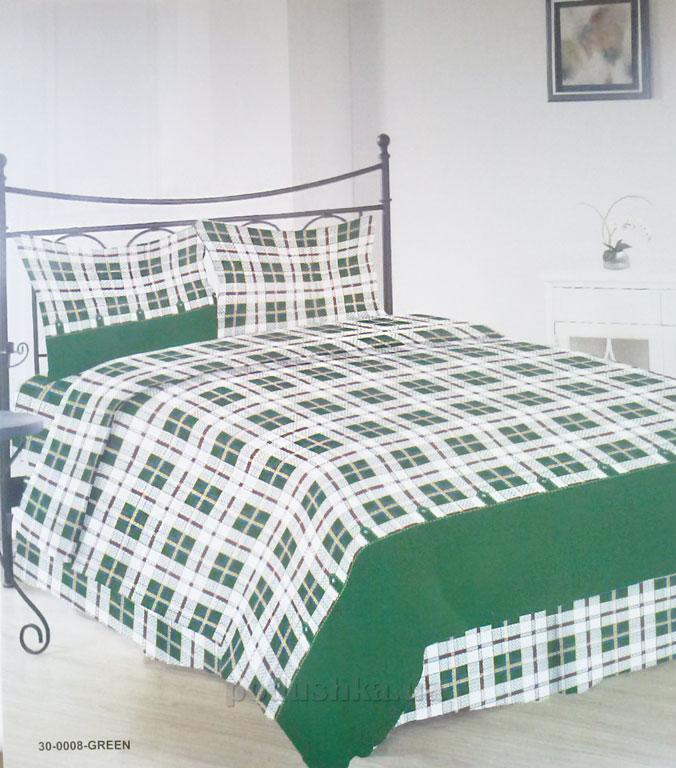 Комплект постельного белья Sergio 30-0008-green бязь