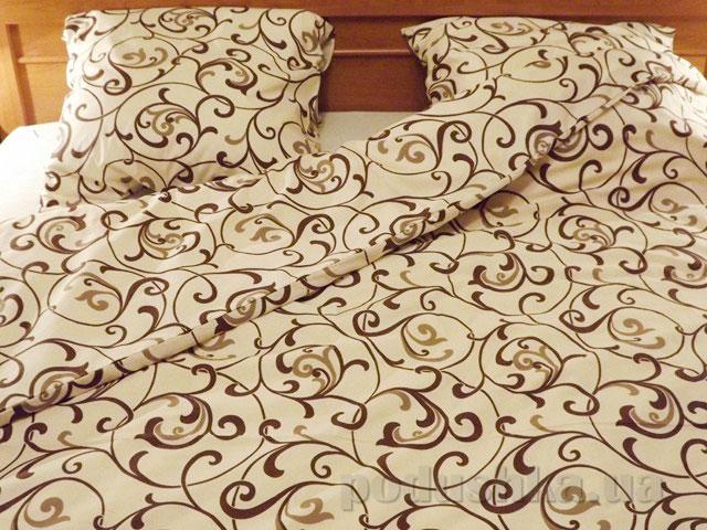 Комплект постельного белья Sergio 40-0456-beige бязь