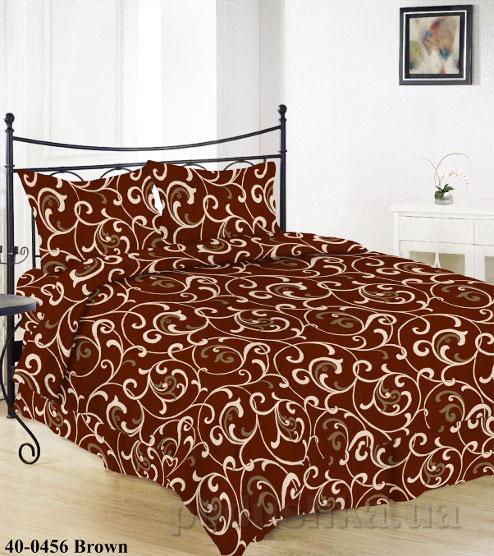 Комплект постельного белья Sergio 40-0456-brown бязь
