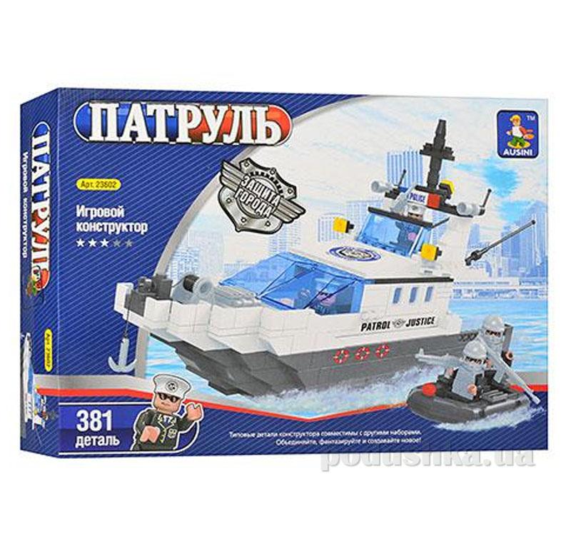 Конструктор Ausini Морской патруль 23602   Ausini