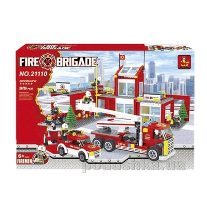 Конструктор Ausini Пожарная бригада 21110