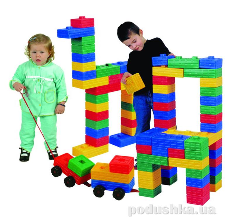 Конструктор для детей 03-251, 43 кубика