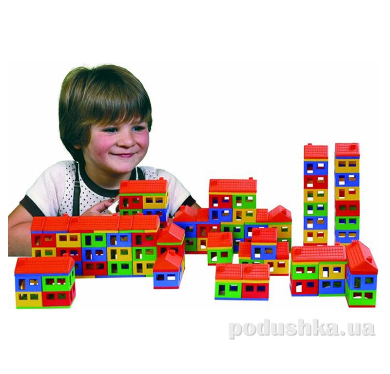 Конструктор для ребенка Домики Pilsan 03-101