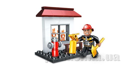 Конструктор Городская техника Набор Пожарный 2497 Mega Bloks