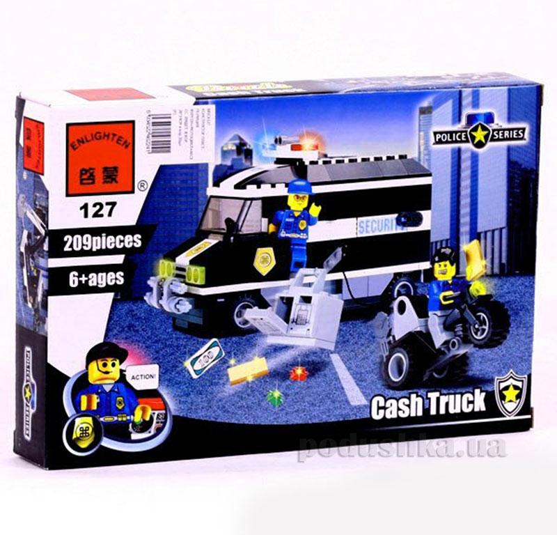 Конструктор Инкассаторский фургон Brick 457833/127