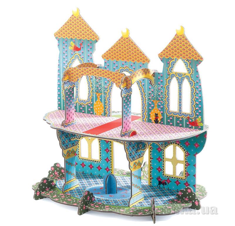 Конструктор из плотного картона Замок чудес 3D Djeco