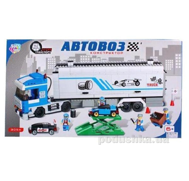 Конструктор Joy Toy Автовоз 3054