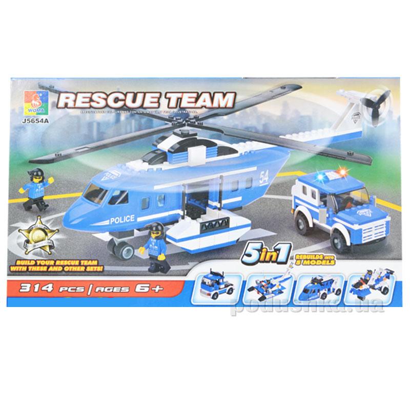 Конструктор Jubilux J 5654 A Вертолет