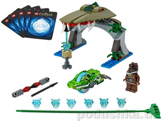 Конструктор Lego Крокодилья Пасть Legends Of Chima 70112