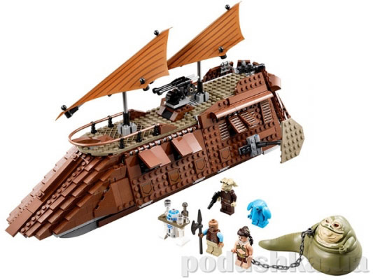 Конструктор Lego Парусный корабль Джаббы Star Wars 75020