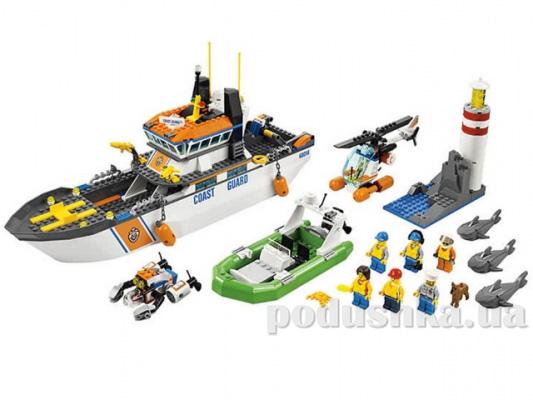 Конструктор Lego Патруль береговой охраны City 60014