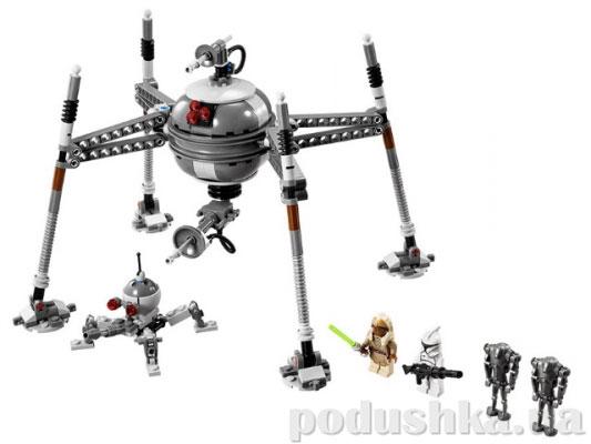 Конструктор Lego Самонаводящийся дроид-паук Star Wars 75016