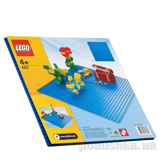 Конструктор Lego Синяя строительная пластина Creator 620